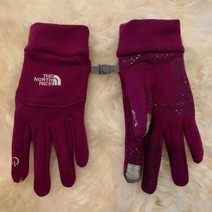 Women's North Face E-Tip Gloves